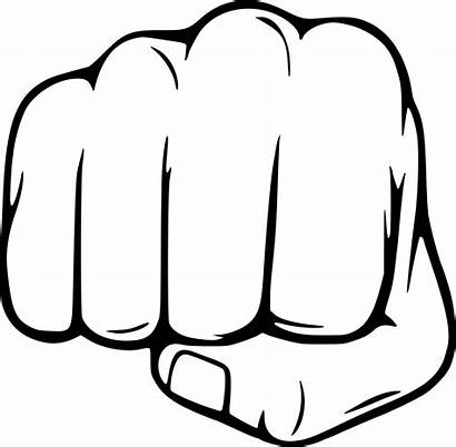 Fist Punch Clipart Vector Transparent Sideways Svg