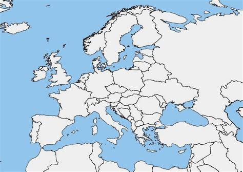 Carte Vierge De L Europe by Image Carte De L Europe Vi 232 Rge Dessin 7464