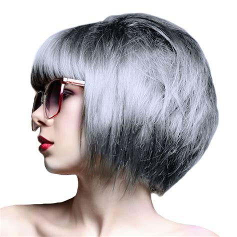 Crazy Color Hair Dye Silver Blue Banana Uk
