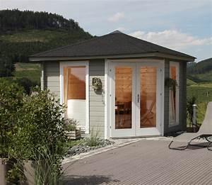 Haus Bausatz Holz : 5 eck gartenhaus 300x300cm holzhaus bausatz 44mm ~ Whattoseeinmadrid.com Haus und Dekorationen