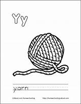 Yarn Coloring Pages Ball Letter Printable Colouring Sheets Drawing Books Cat Letters Yarns Getcolorings sketch template