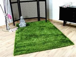 Hochflor Teppich Grün : hochflor langflor shaggy teppiche in gr n blau und t rkis ~ Markanthonyermac.com Haus und Dekorationen
