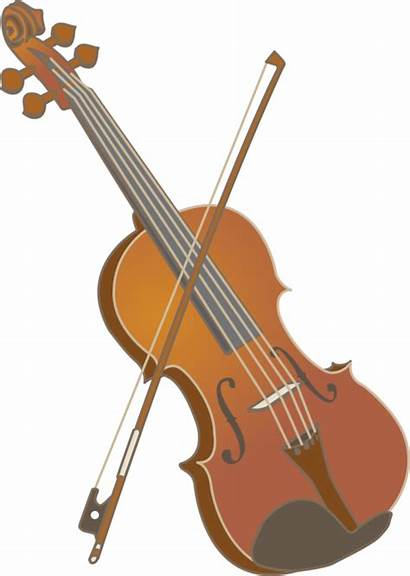 Violin Instruments Clipart String Viola Strings Musical