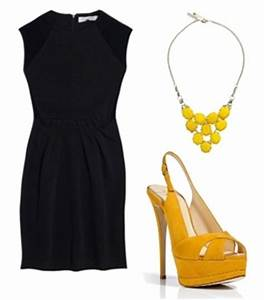 What kind of shoes to wear with a yellow dress – Dress