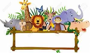 Jungle Safari Animals Clip Art (76+)