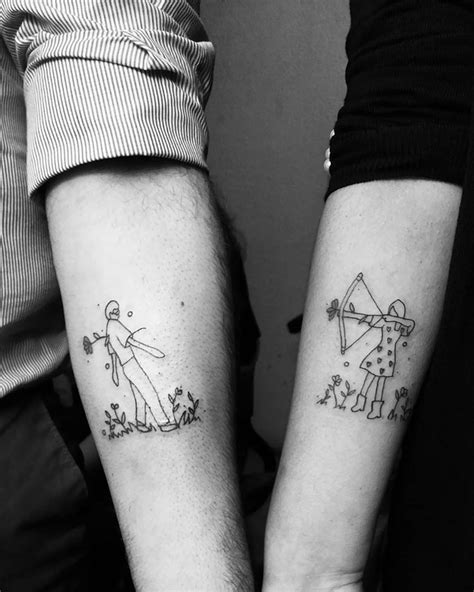 30 Matching Tattoos That Are Actually Good For Once
