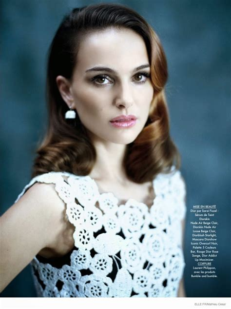 Daily Delight Natalie Portman For Elle France