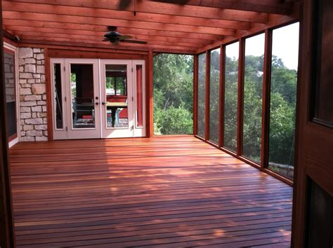 Tiger Wood Decking Maintenance by Cofty Construction Tigerwood Porch Eastside Lumber