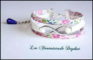 les 25 meilleures idees de la categorie bijoux textile sur With robe fourreau combiné avec bracelet tissu liberty