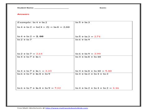 worksheets product rule and quotient rule exponents