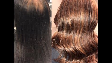 dye hair  black  chocolate brown hair youtube