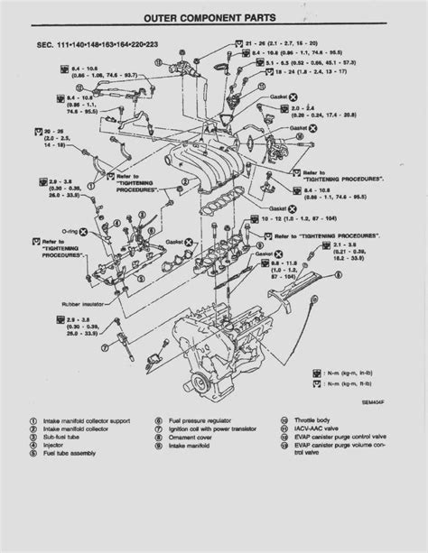2003 Maxima Se Engine Diagram by 2001 01 Nissan Maxima Oem Service Repair Shop Manual Cd Ebay