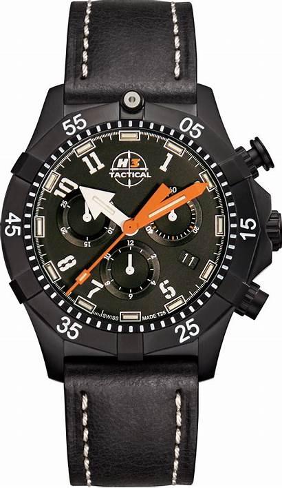 H3 Tactical Chronograph Commander Uhr Gunworks Titanium