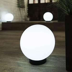 Boule Lumineuse Exterieur Solaire : boule solaire melao blanc inspire leroy merlin ~ Edinachiropracticcenter.com Idées de Décoration