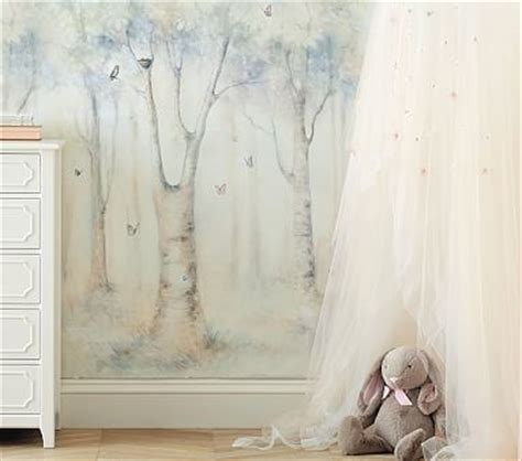 monique lhuillier ethereal peel stick wall mural