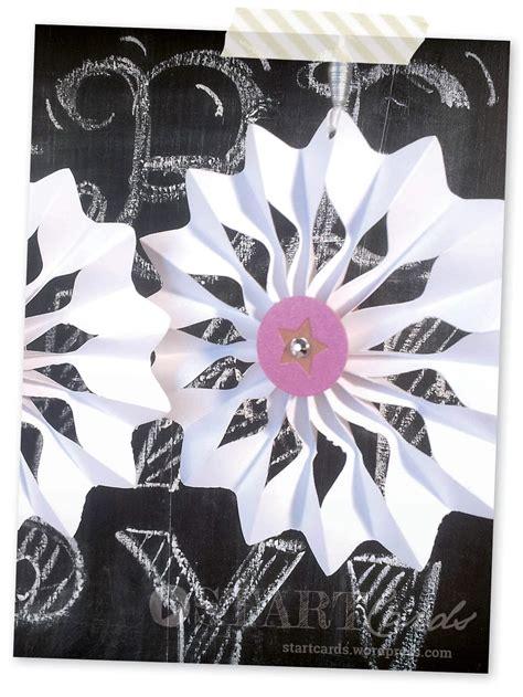 papier rosetten sterne falten handmade kultur
