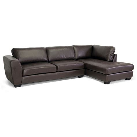 right facing sectional sofa orland right facing sectional sofa in brown ebay