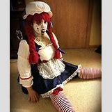 Homemade Broken Doll Costume | 152 x 186 jpeg 17kB