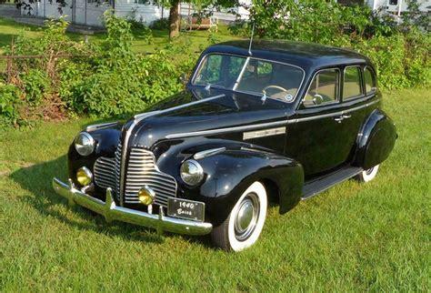 1940 Buick Sedan by 1940 Buick Special 4 Door Sedan