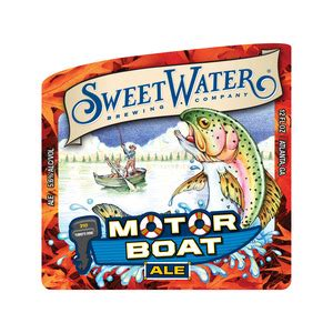 Motorboat Beer by Sweetwater Motorboat Bottle Can Beer Syndicate