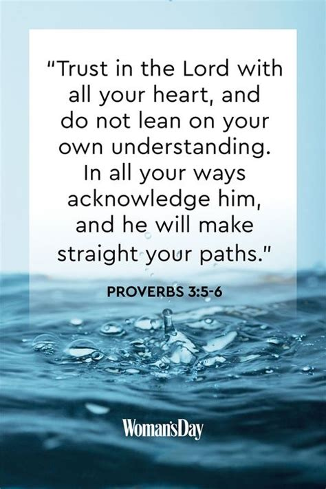 faith bible verses lord trust times heart strong womansday lean getty put acknowledge ways him