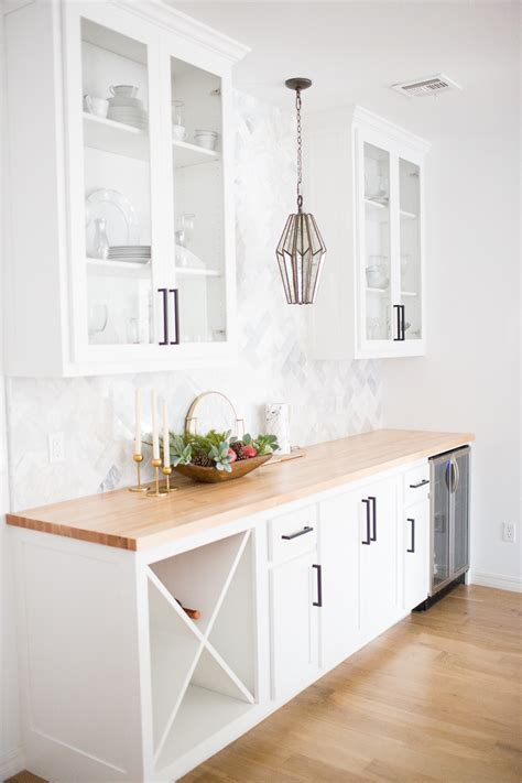 white kitchen cabinets black hardware tulsa remodel reveal modern white farmhouse cc and mike 1791