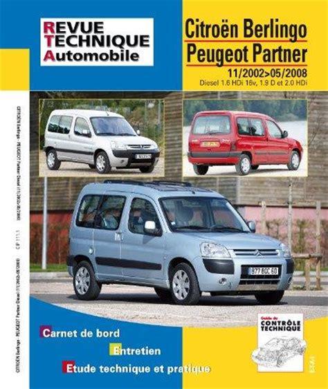 entretien peugeot 2008 revue technique automobile citroen berlingo