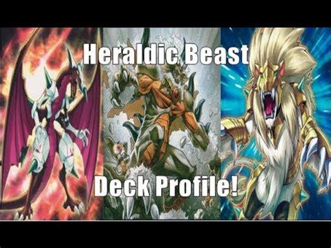 Yugioh Beast Deck 2014 by Yu Gi Oh Heraldic Beast Deck Profile March 2014