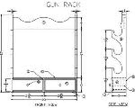 standing gun rack plans pdf diy building a gun rack plans wooden