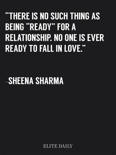 Relationship Meme Quotes - why there s no such thing as being ready for a relationship