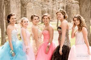 Girls High School Senior Prom