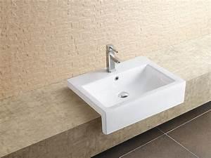 Aufsatzwaschbecken 60 Cm : einbauwaschbecken 60 cm waschtisch handwaschbecken waschbecken ewk 226 ~ Indierocktalk.com Haus und Dekorationen