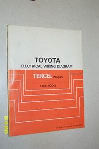 1988 Toyota Tercel Wagon Electrical Wiring Diagrams Shop