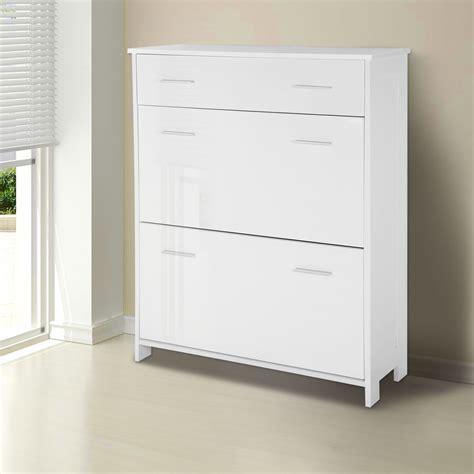 white shoe storage cabinet shoe cabinet high gloss wood storage cupboard rack unit