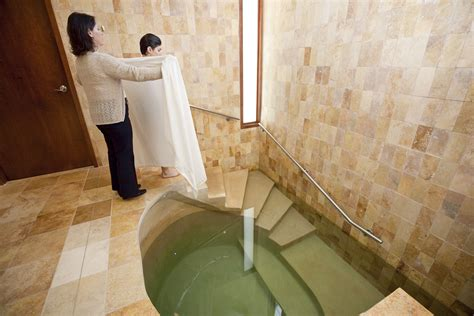 Israel Government Trains Mikvah Ladies To Spot Domestic