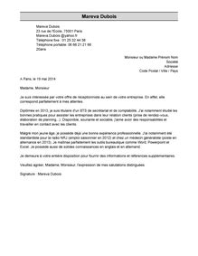 bureau of export administration exemple de lettre de motivation modèle de lettre de
