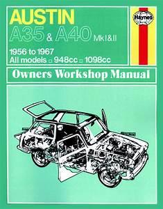 Haynes Manual Austin A35  U0026 A40  1956