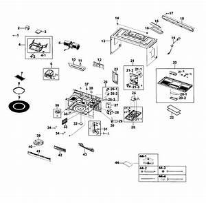 Samsung Microwave Smh1816s Parts Diagram