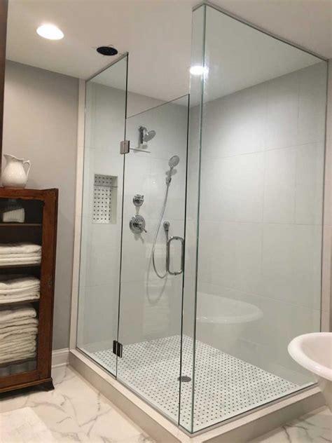 corner shower american glass mirror