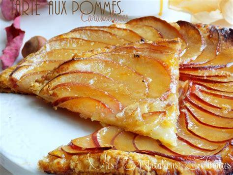 recette de pate a tarte au pomme tarte aux pommes caram 233 lis 233 es le cuisine de samar