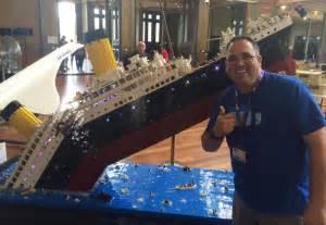 lego titanic depicts the passenger ship s fateful sinking