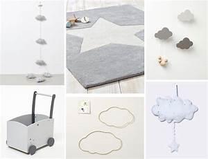 Decoration Nuage Chambre Bébé : deco chambre bebe nuage etoile visuel 8 ~ Teatrodelosmanantiales.com Idées de Décoration