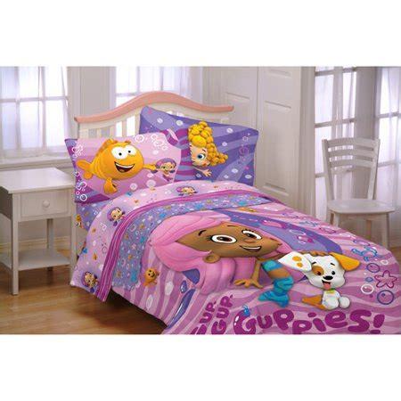 bubble guppies fun guppies reversible comforter walmartcom