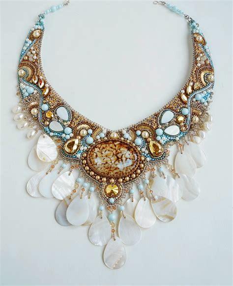 Amazing bead embroidered jewelry by Guzel Bakeeva | Beads ...