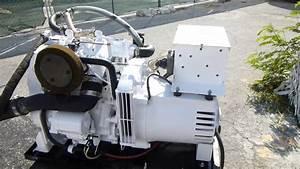 Kohler Gas Marine Generator Model 4 Esz