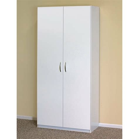 White Storage Closet Wardrobe by White Wardrobe Cabinet Clothing Closet Storage Modern