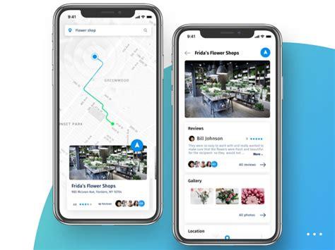 Navigation App Design by Petr Petryaev on Dribbble