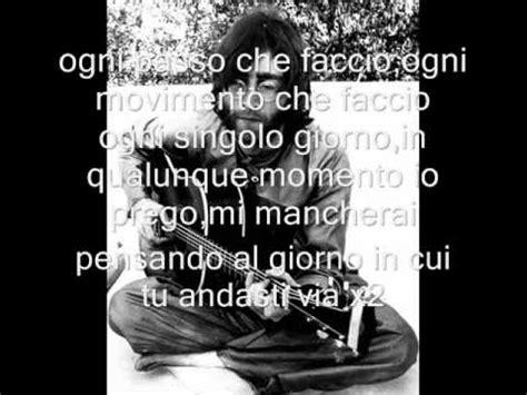 i miss you testo puff i ll be missing you testo in italiano