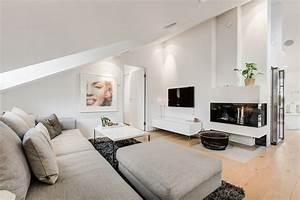 Wohnzimmer Mit Dachschräge : wohnzimmer ideen schr ge w nde ~ Lizthompson.info Haus und Dekorationen
