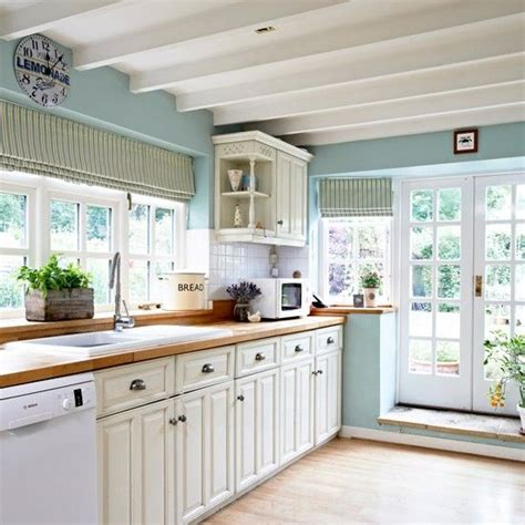 blue kitchen walls with white cabinets best 25 blue white kitchens ideas on pinterest blue 633 | 29401fbc86386a1b229da747eab777d0 blue country kitchen country kitchens